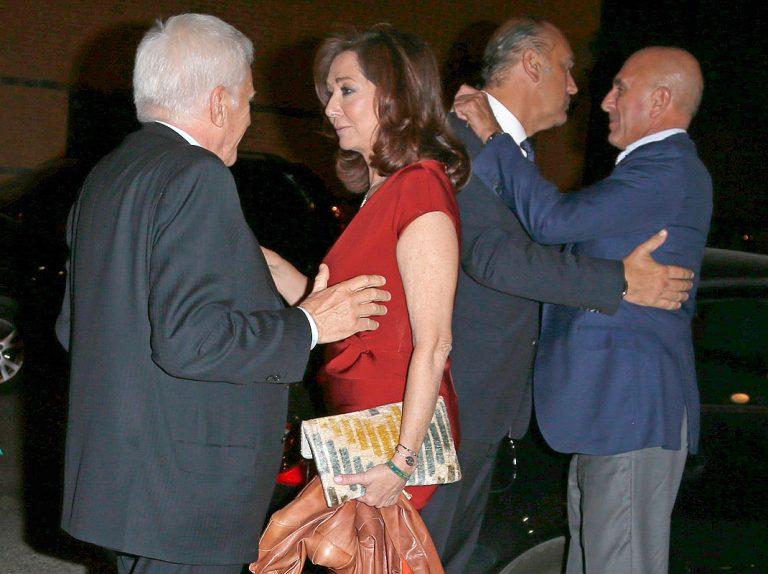 Ana Rosa Quintana y Paolo Vasile, reunión de trabajo en el restaurante preferido de los famosos