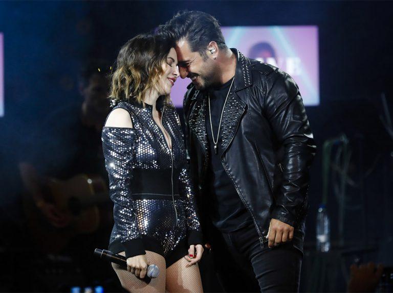 David Bustamante se va de concierto con una mujer y no es Yana Olina