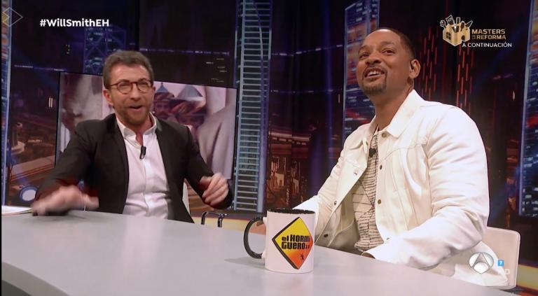 Will Smith invita a Pablo Motos a hacer 'El Hormiguero' en Los Ángeles