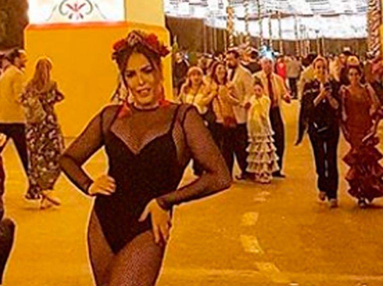 Amor Romeira deja la vergüenza en casa para ir a la Feria de Abril