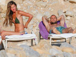 Malena Costa y Mario Suárez, vacaciones en Ibiza sin sus hijos