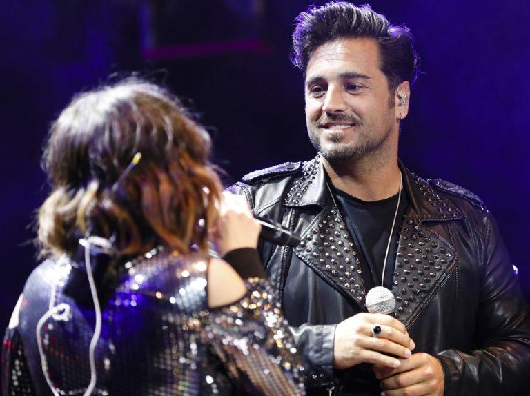 Una sorpresa entre los vips que acuden al concierto de David Bustamante en Madrid