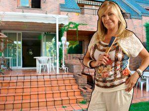 Bárbara Rey vende su impresionante chalet de Madrid por 690.000 euros