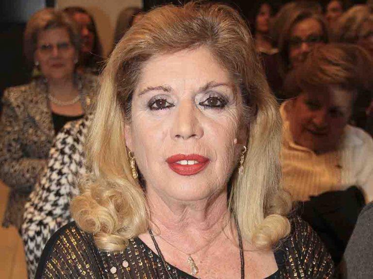 María Jiménez, operada de urgencia
