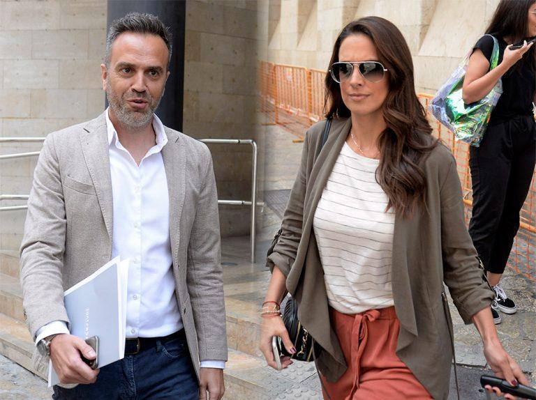 Nuria Fergó y su exmarido se ven las caras en el Juzgado de Palma