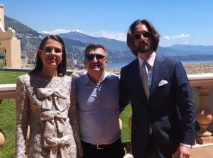 Primera foto de la boda de Carlota Casiraghi y Dimitri Rassam