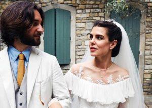 Primeras fotos de la boda religiosa de Carlota Casiraghi y Dimitri Rassam