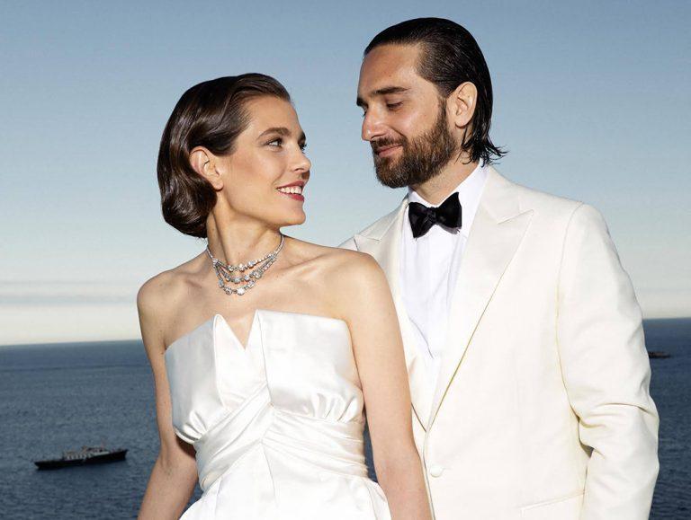 Carlota Casiraghi y Dimitri Rassam celebran su boda religiosa por sorpresa