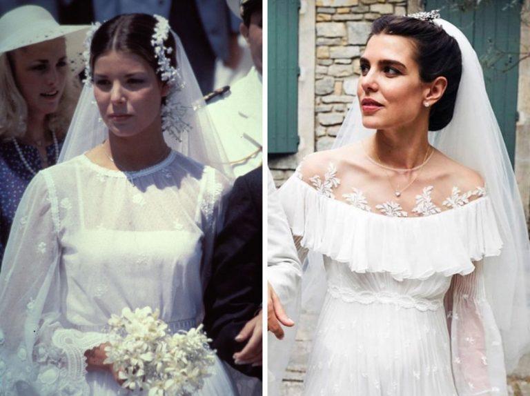 Carlota Casiraghi rinde un bonito homenaje a su madre en su boda religiosa