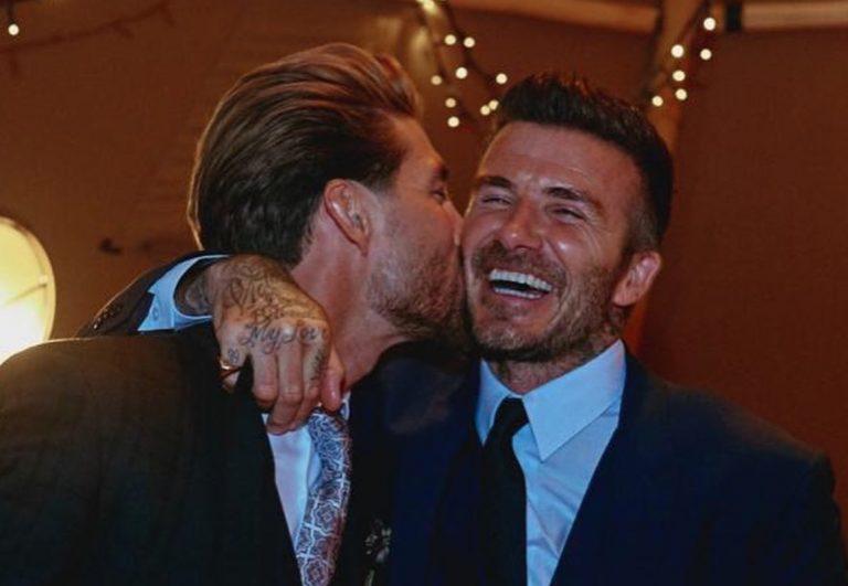 David Beckham publica fotos de la boda de Pilar Rubio y Sergio Ramos