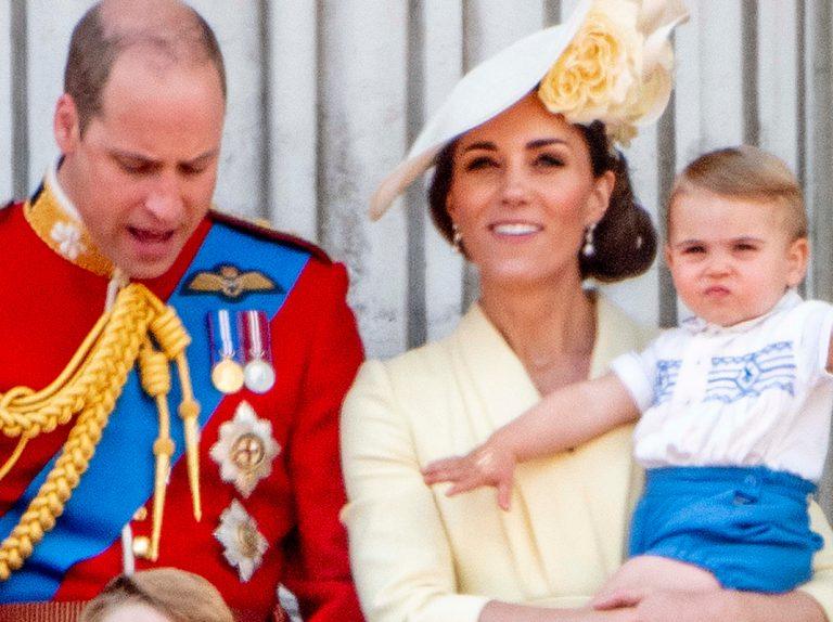 Las primeras y sorprendentes palabras del príncipe Louis de Cambridge