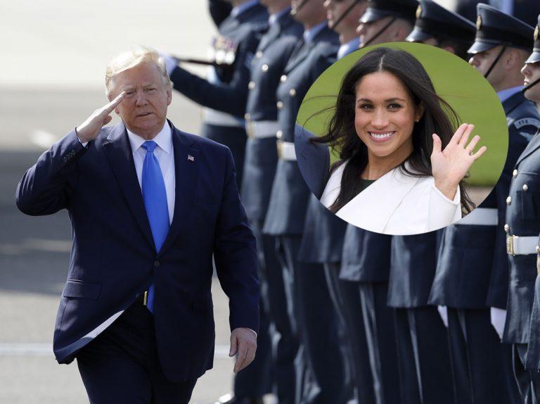Meghan Markle planta a Donald Trump tras conocer los insultos que le dedica