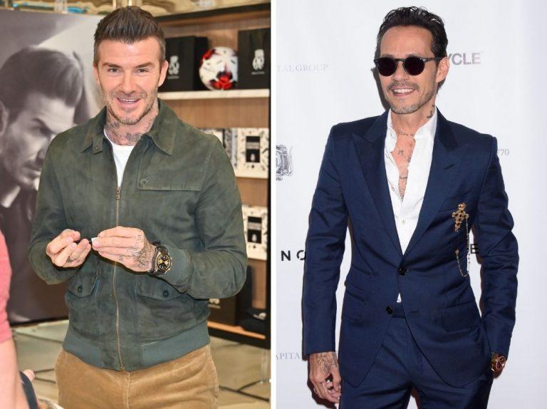 Marc Anthony y David Beckham, los invitados más VIP de la boda de Pilar Rubio y Sergio Ramos