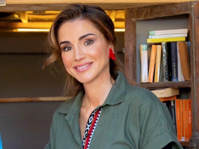 Rania de Jordania se apunta al 'moreno Letizia'