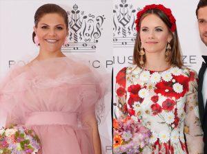 Victoria y Sofía de Suecia, duelo de glamour en una gala musical