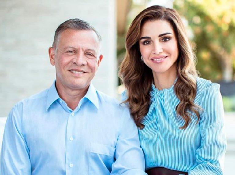 Rania de Jordania le dedica apasionadas palabras a su marido en su 26 aniversario
