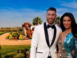 Entramos en la finca donde Sergio Ramos y Pilar Rubio celebrarán su boda