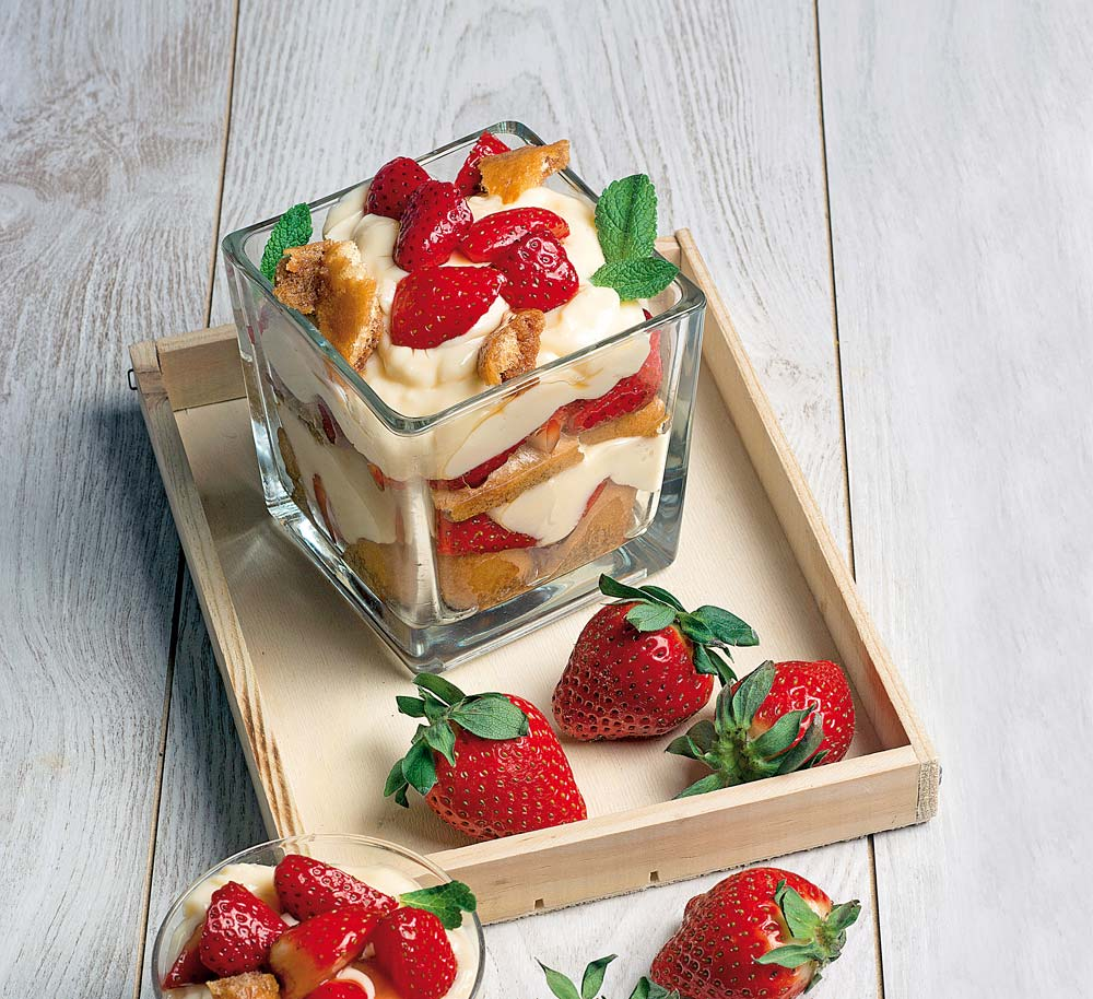 Gramos calorias fresas 500