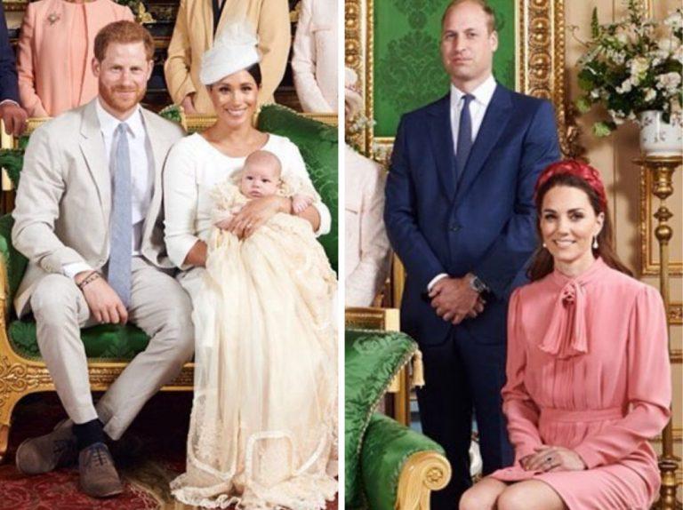 Archie Harrison: lo que revela el lenguaje corporal de la Familia Real británica en la foto oficial del bautizo
