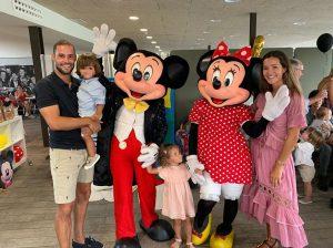 Malena Costa celebra el segundo cumpleaños de su hijo Mario