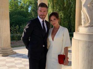 David y Victoria Beckham celebran su 20 aniversario con un tour privado por Versalles