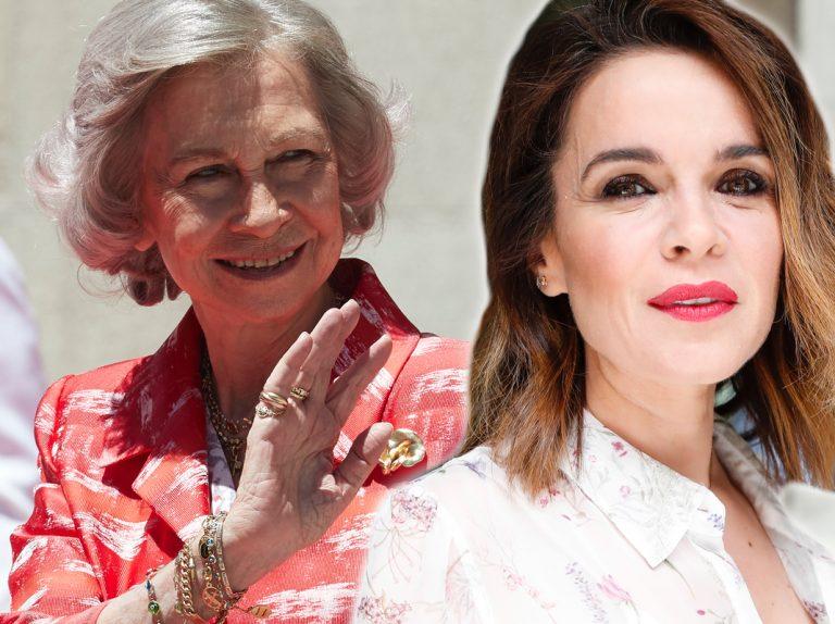 El mensaje de felicitación de la reina Sofía a Carme Chaparro