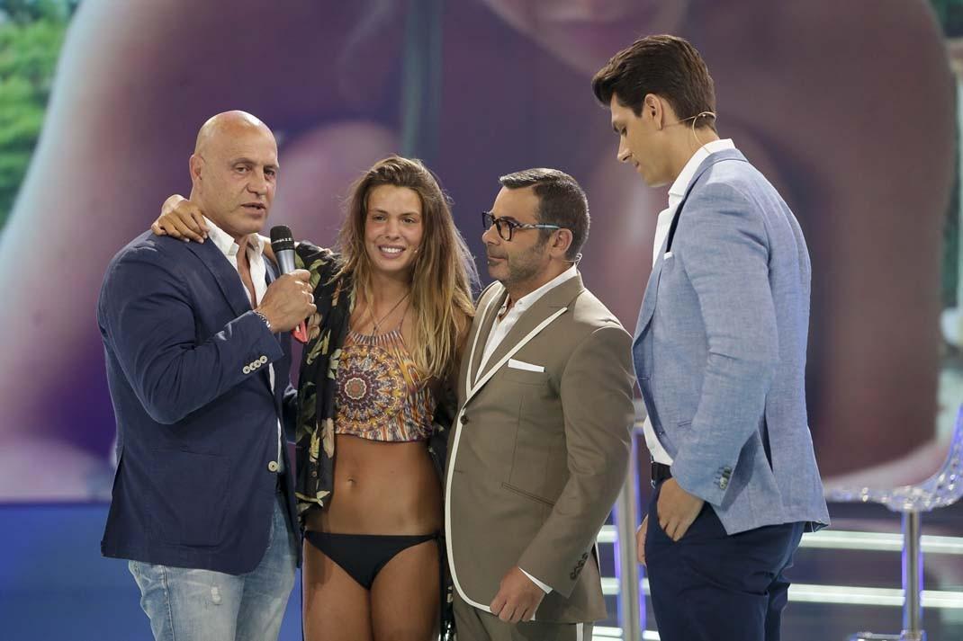 Kiko Matamoros , Diego Matamoros y Laura Matamoros con Jorge Javier Vázquez