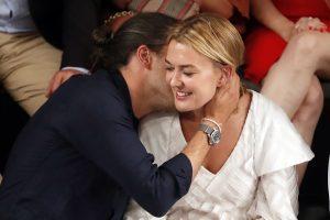 Marta Ortega y Carlos Torretta se comen a besos en la MBFW Madrid