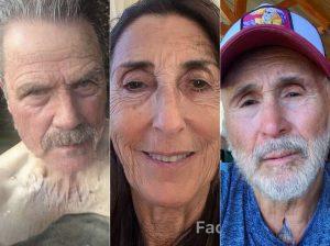 Los famosos envejecen 30 años con el filtro de moda: FaceApp