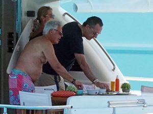 Las lujosas vacaciones de Jaime de Marichalar sobre un yate en Ibiza