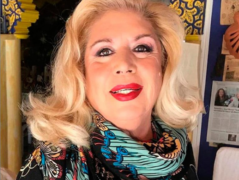 María Jiménez reaparece en televisión tras su ingreso hospitalario