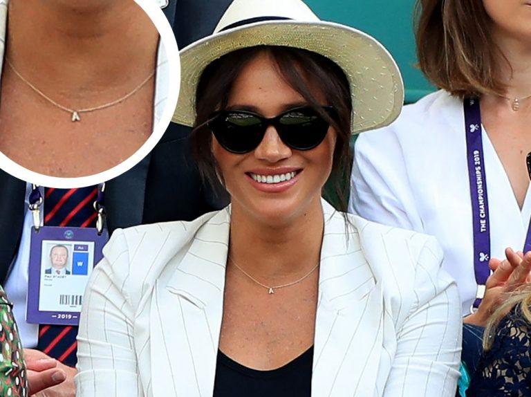 Meghan Markle rinde un particular homenaje a su hijo Archie en el tenis