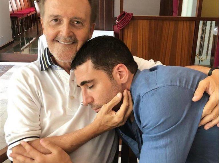El durísimo lapsus de Miguel Ángel Silvestre seis meses después de morir su padre