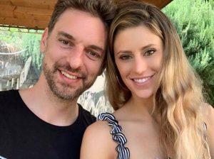 Paul Gasol y Catherine McDonnell disfrutan de su luna de miel