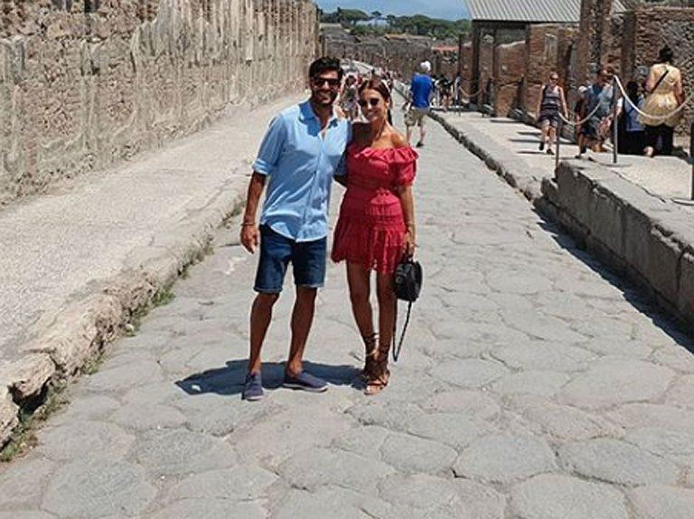 Paula Echevarría y Miguel Torres, vacaciones de amor en Italia