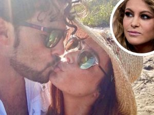 La boda sorpresa del ex de Paulina Rubio con una mujer 17 años mayor que él