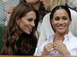 El cariñoso gesto de Kate Middleton a Meghan Markle que no pudieron captar las cámaras en la final de Wimbledon