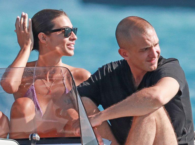 Rocío Crusset y su nuevo novio, Maggio Cipriani, disfrutan de su primer verano juntos en Ibiza