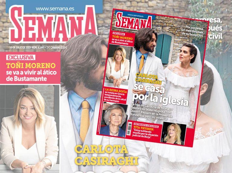 En SEMANA, todo lo que no se ha contado de la boda de Carlota Casiraghi