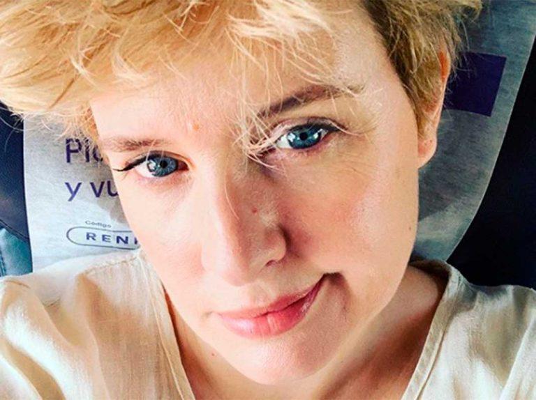 Tania Llasera, rota, desvela el motivo de sus lágrimas en Instagram
