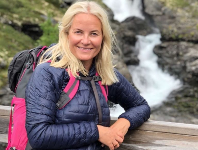 Las vacaciones de aventura de Mette Marit a pesar de su enfermedad