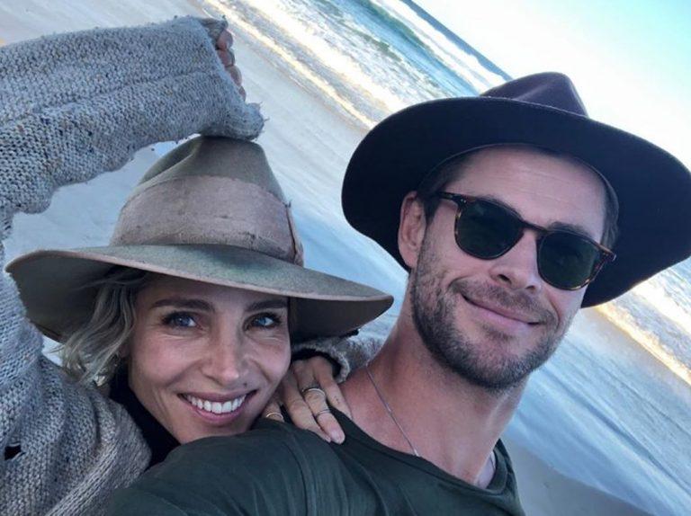 La cariñosa felicitación de Elsa Pataky a Chris Hemsworth por su 36 cumpleaños