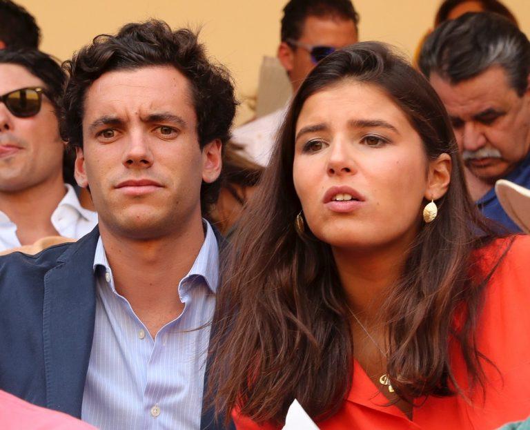 Tana Rivera presume de novio en la tradicional corrida Goyesca
