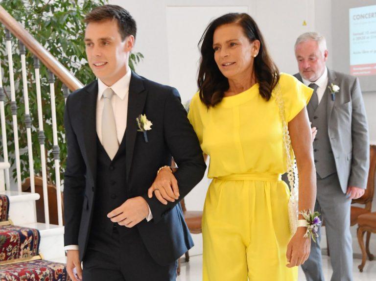 Estefanía de Mónaco cuenta cómo vivió la boda de su hijo y qué le dijo en el banquete