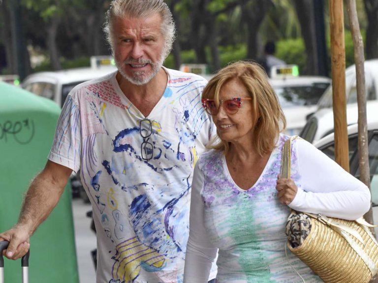 María Teresa Campos y Bigote Arrocet abandonan Marbella por sorpresa, ¡sabemos el motivo!