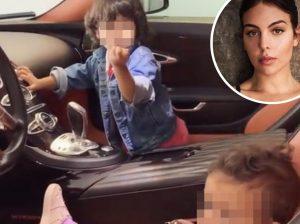 Lo que hace Georgina Rodríguez con los hijos de Cristiano Ronaldo cuando no está en casa