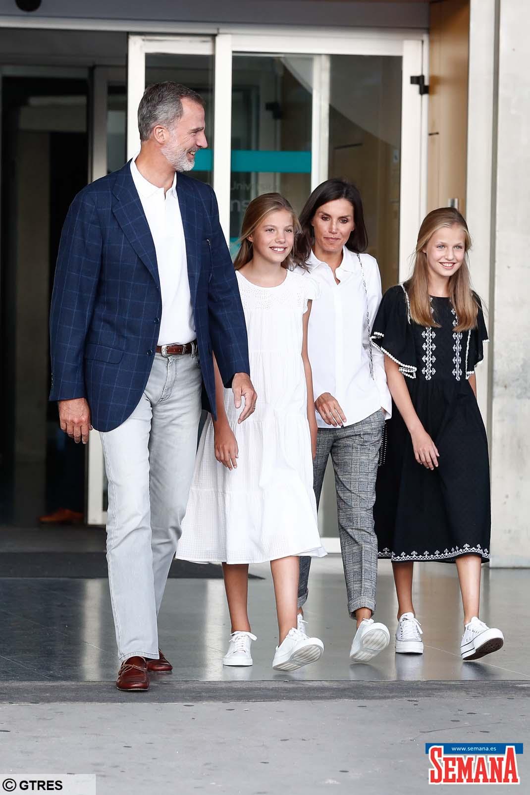 letizia infanta sofía principe felipe princesa Leonor