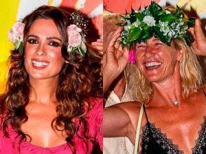 Ana Duato y Mar Saura, dos bellezas atemporales de fiesta por Ibiza