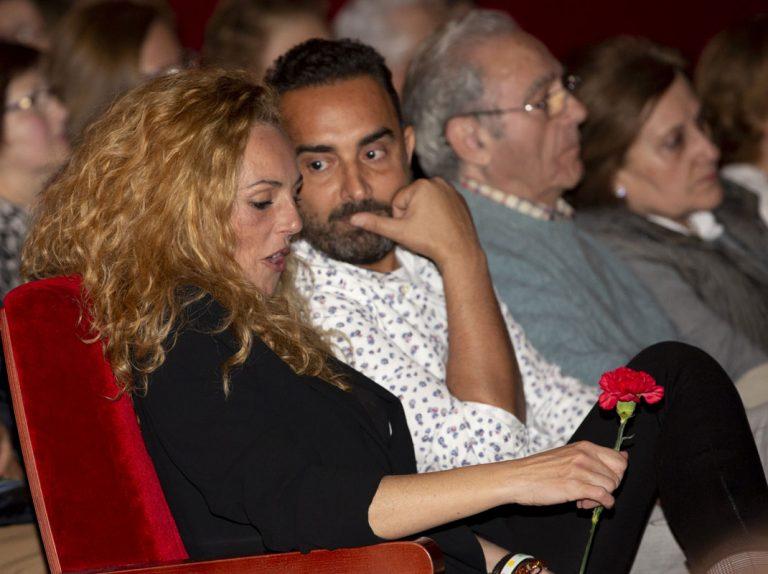 Fidel Albiac y Rocío Carrasco trabajan juntos en la nueva obra de teatro sobre Rocío Jurado