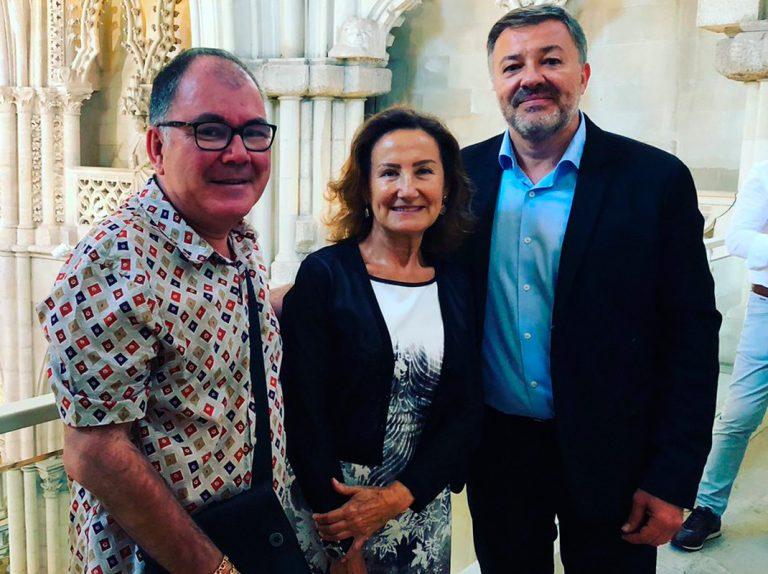 Paloma Rocasolano: nuevo aspecto y nuevo amigo político para la madre de la Reina Letizia